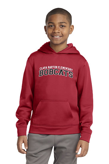 Youth Unisex Sport-Wick Fleece Hooded Pullover