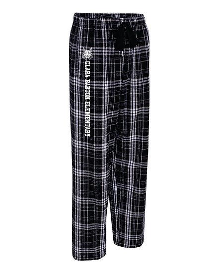 Boxercraft - Black Flannel Pants With Pockets