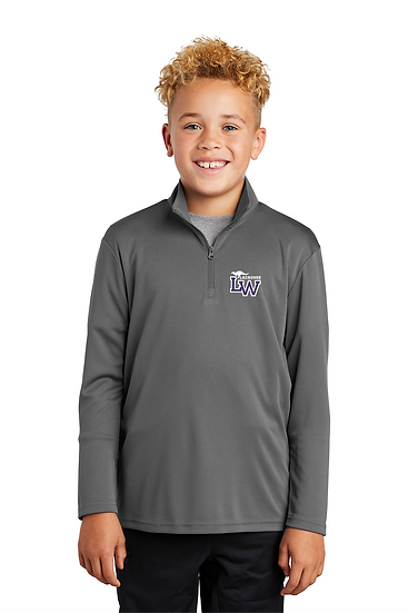 Sport-Tek ®Youth PosiCharge ®Competitor ™1/4-Zip Pullover