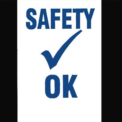 Safety Check Decals {EZ612}