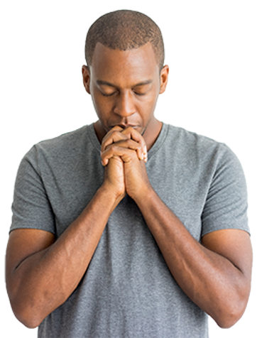 1Calm-spiritual-handsome-African-guy-pra