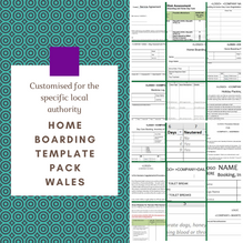 Wales: Home Boarding Template Pack