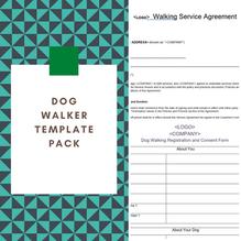 Dog Walker Template Pack