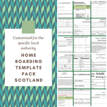 Scotland: Home Boarding Template Pack