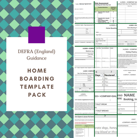 England: Home Boarding Template Pack