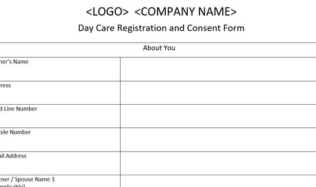 Dog Registration and Consent Form
