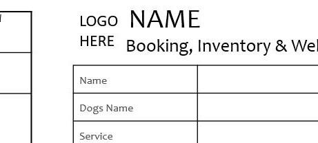 Mini Home Boarding Booking Form