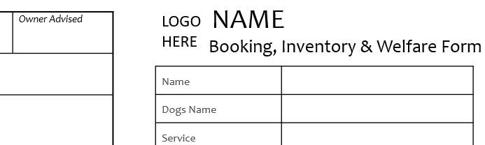 Mini Home Boarding Booking Form