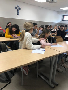 Visite d'étudiants en théologie