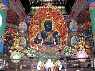 Fudo al tempio di Narita