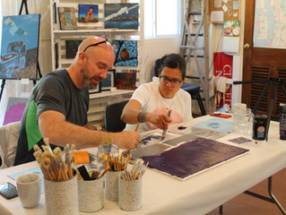 Art workshop with lodging