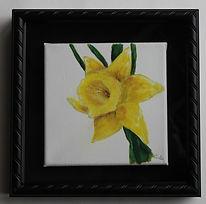 framed daffodil.JPG