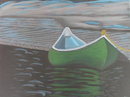 Green Canoe 16X20C1