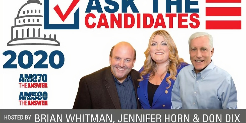 AM 870 Live Radio Show: Coffee with the Candidates