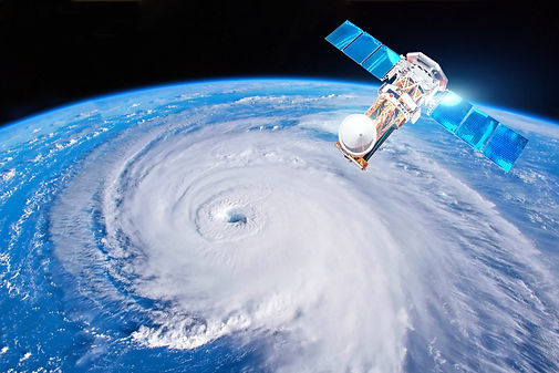 Research, probing, monitoring hurricane.