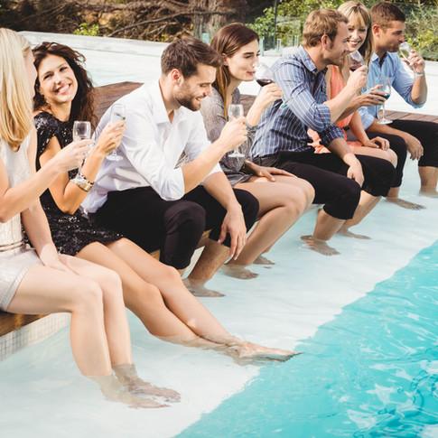 Group Pool Parties