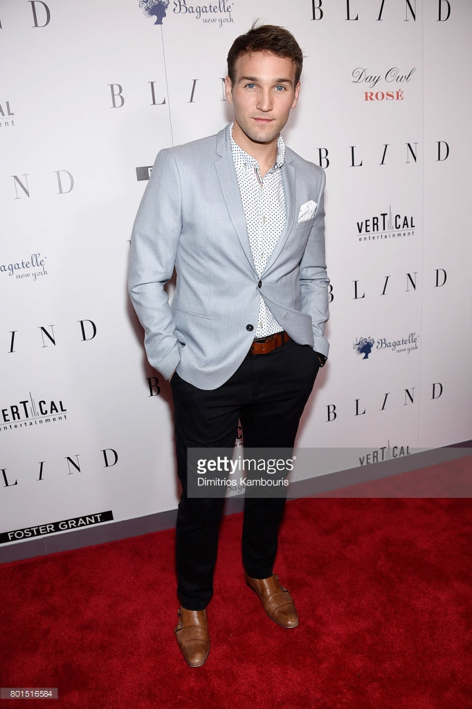 Drew Blind Premiere Red Carpet