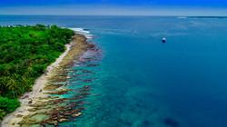 DRONE ISLAND BOAT