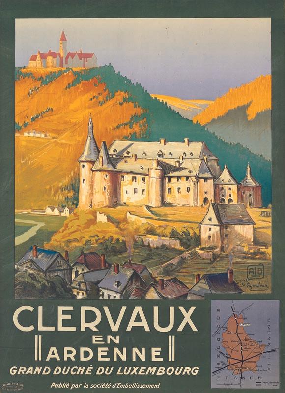 Clervaux en Ardenne, vers 1922
