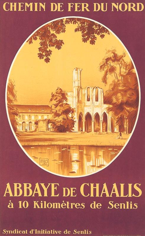 Abbaye de Chaalis, vers 1929