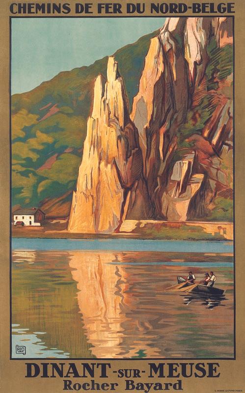 Diant sur Meuse, vers 1929