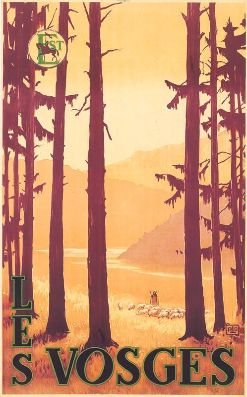 Les Vosges, vers 1937