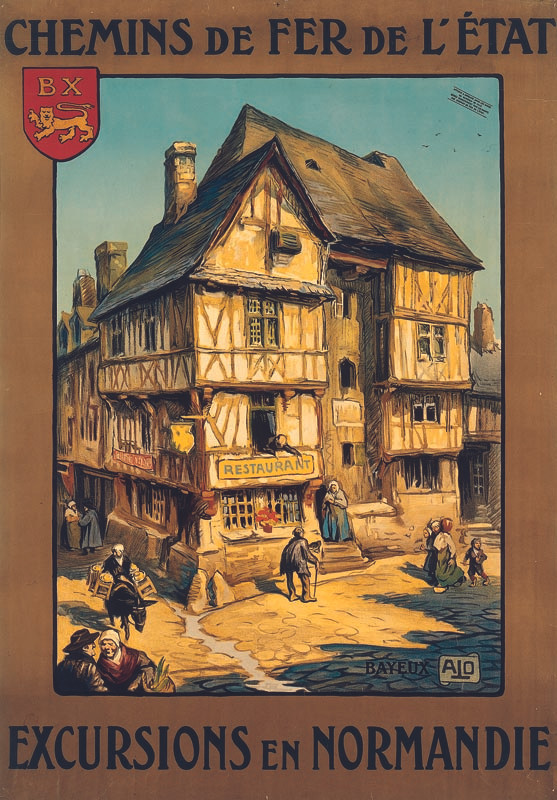Bayeux, vers 1922
