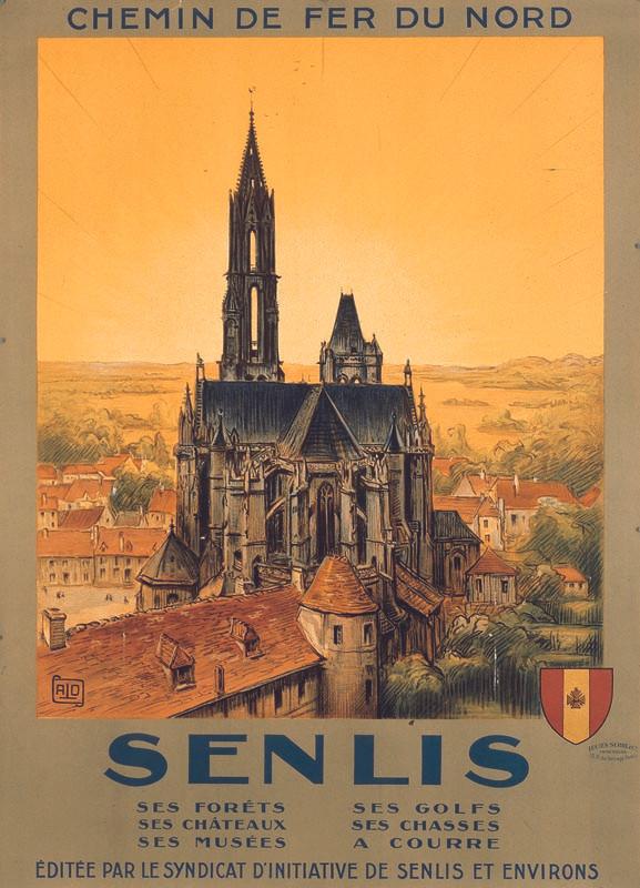 Senlis, vers 1925