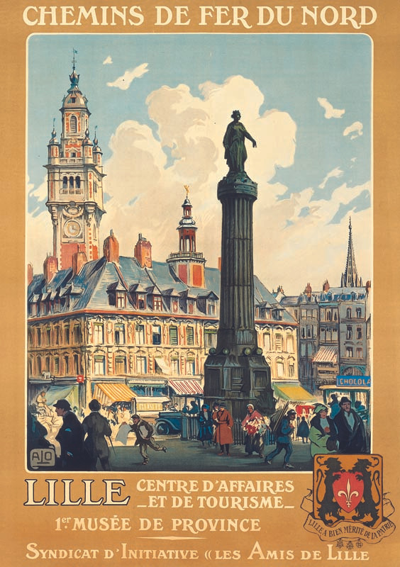 Lille, vers 1920
