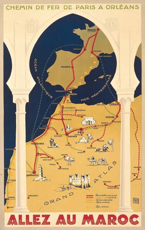Maroc, 1928
