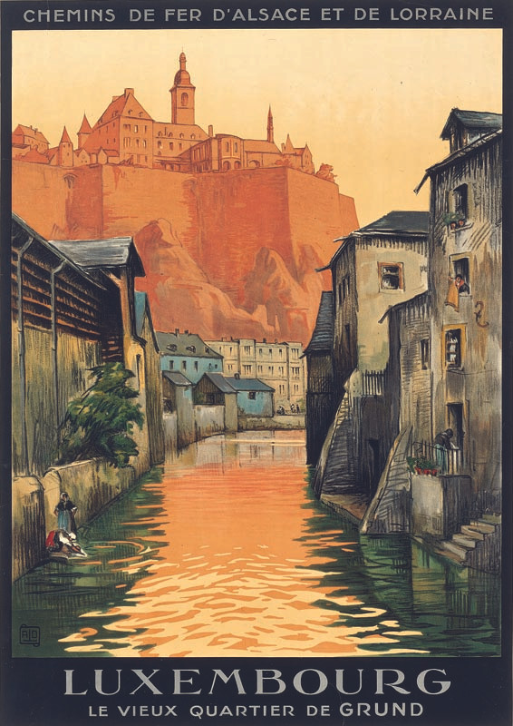 Luxembourg, vers 1928