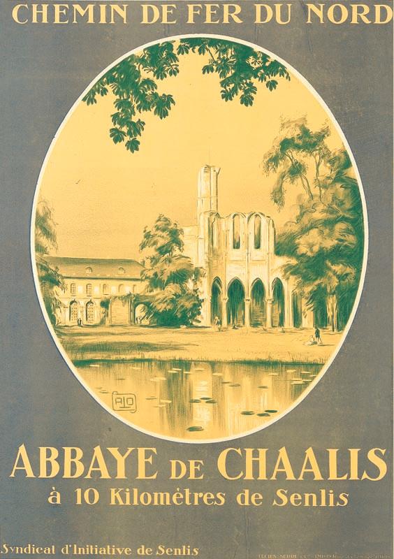 Abbaye de Chaalis, vers 1927