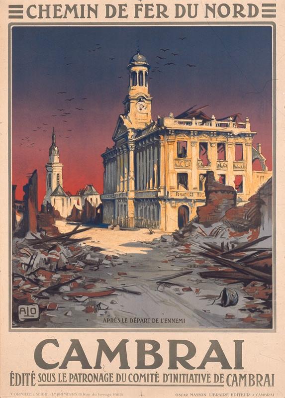 Cambrai,  vers 1921
