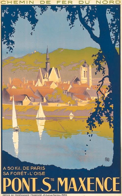 Pont Sainte Maxence, vers 1936