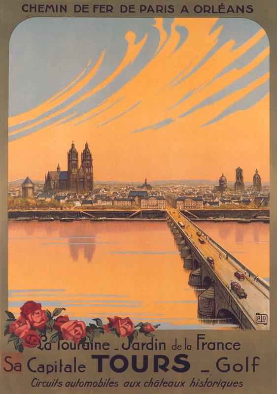 Tours, vers 1927