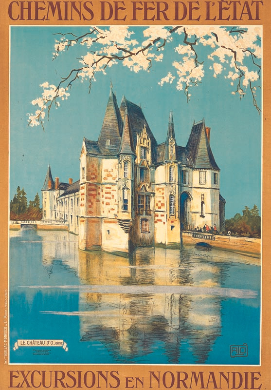 Château d'O, vers 1922