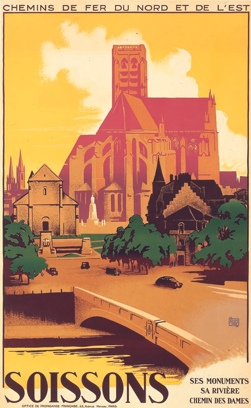 Soissons, vers 1936