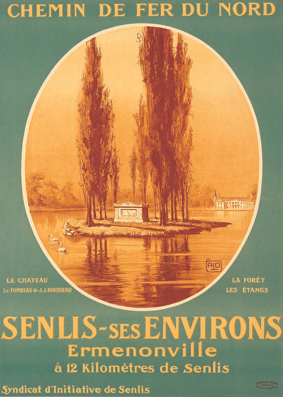 Ermenonville, vers 1926