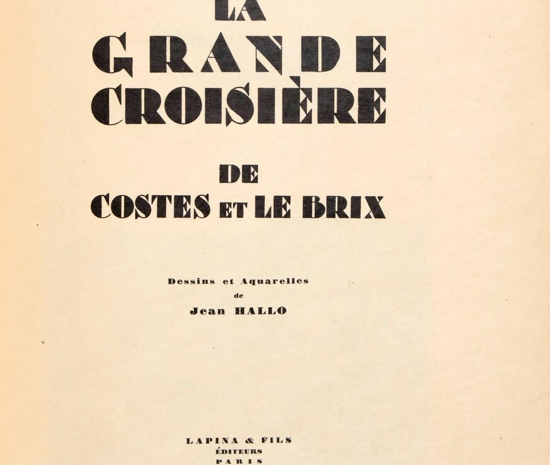 La Frande Croisère, 1928