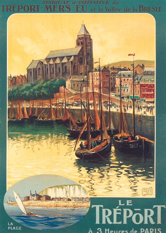 Le Tréport, vers 1922