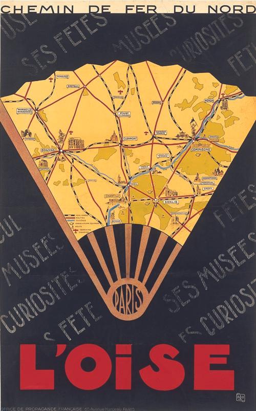 L'Oise, vers 1936