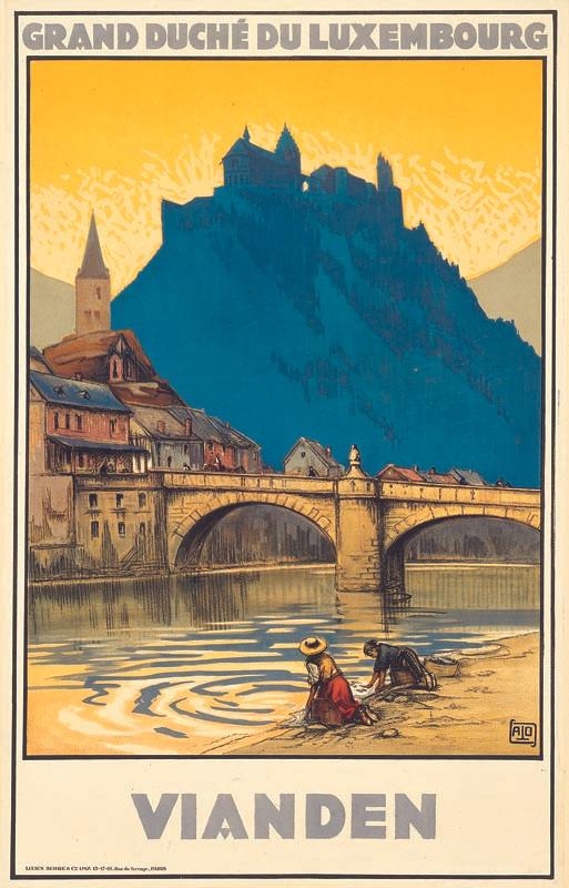 Vianden, vers 1928