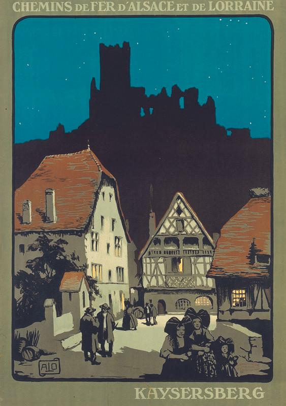 Kaysersberg, vers 1922
