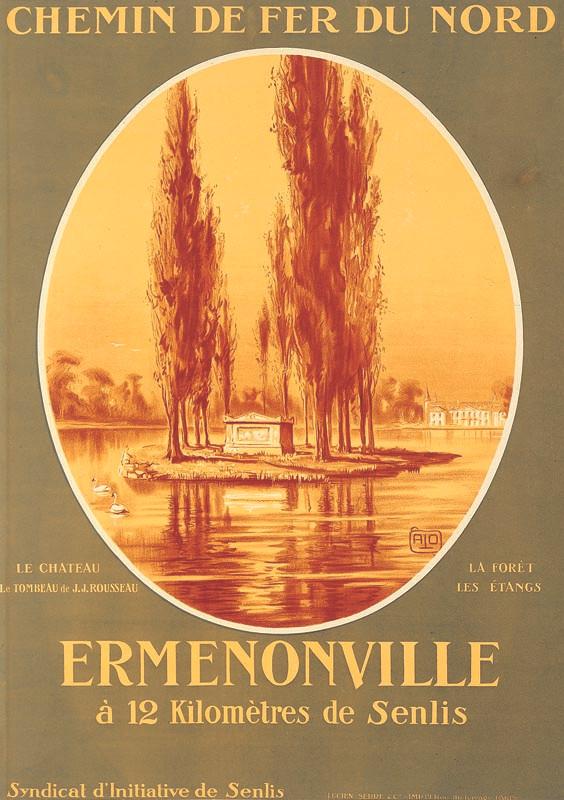 Ermenonville, vers 1923