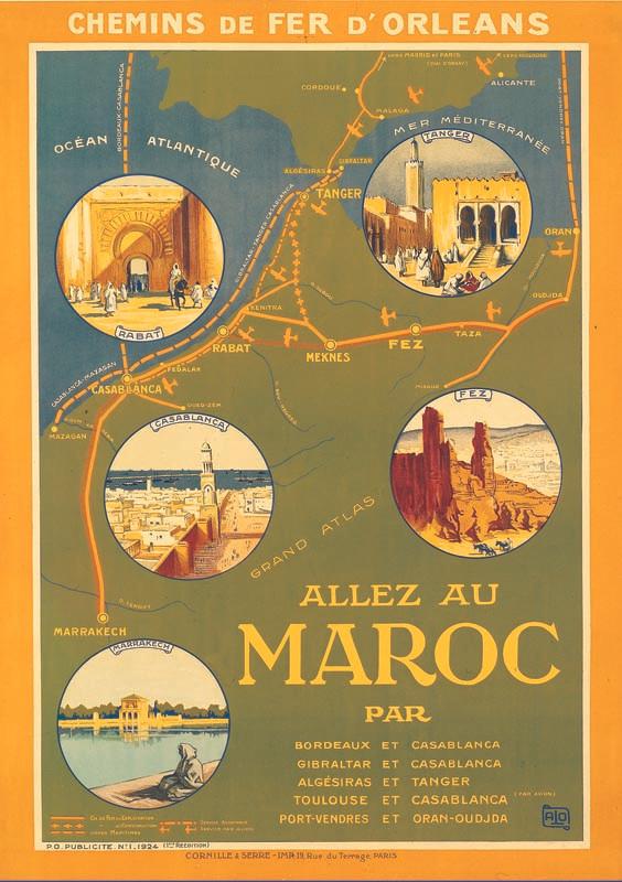 Maroc, 1924