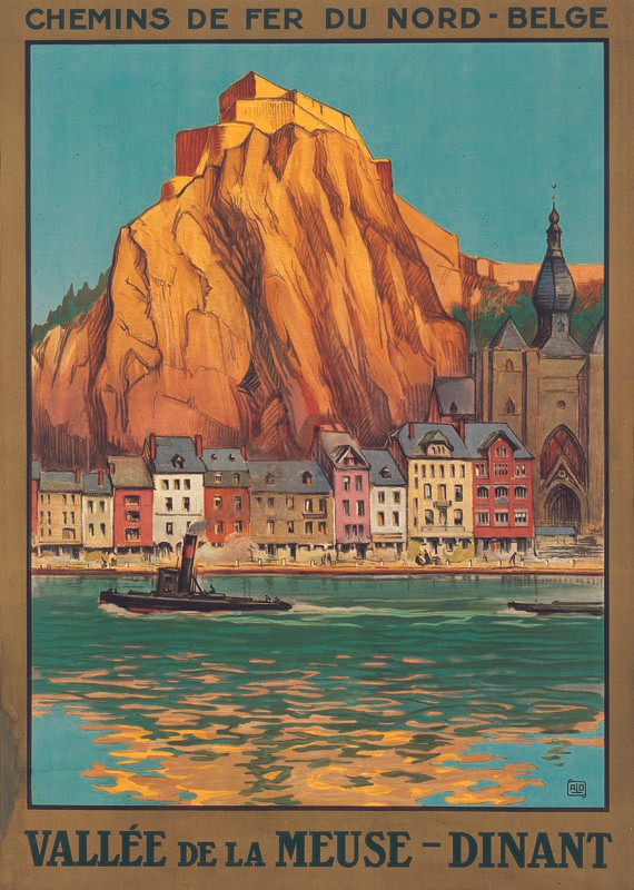 Vallée de la Meuse Dinant, vers 1927