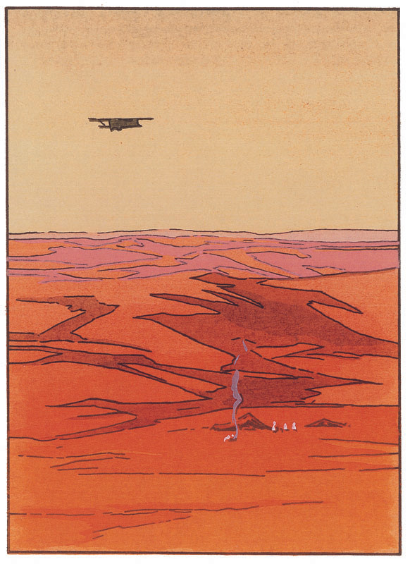 Survol du désert Mauritanien, 1928
