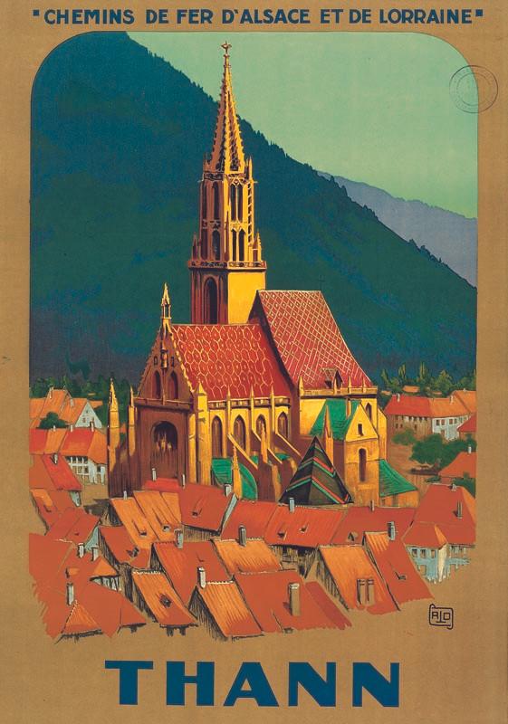 Thann, vers 1926