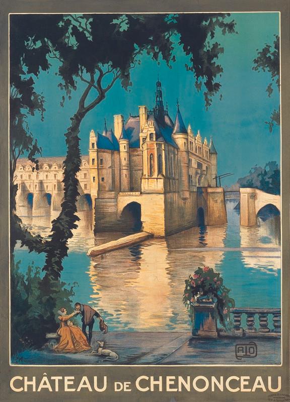 Chenonceaux, vers 1921