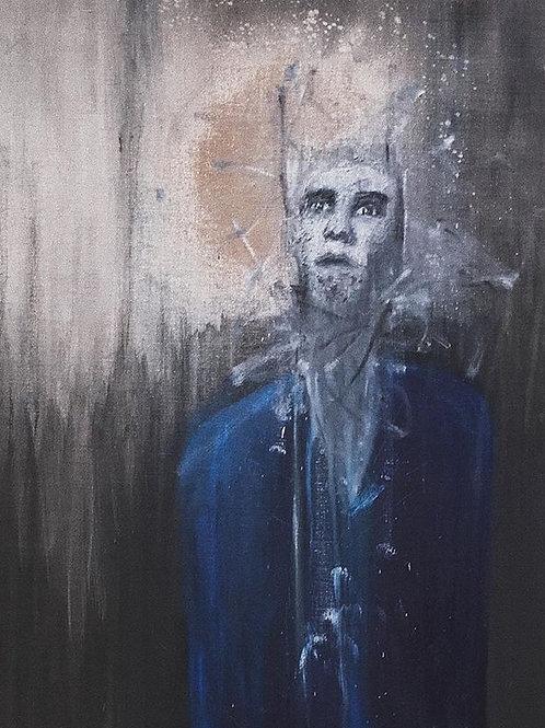 self portrait, in a landscape (2017)